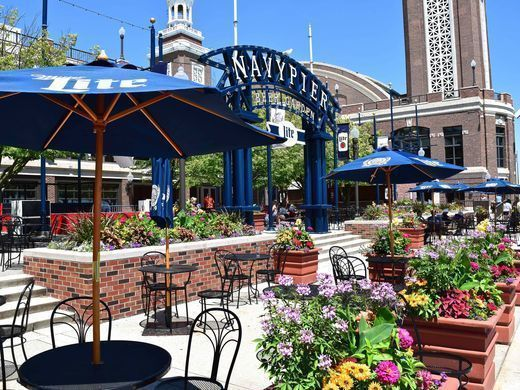 Network at the Miller Beer Garden, Navy Pier, and Get a Brew and a View!