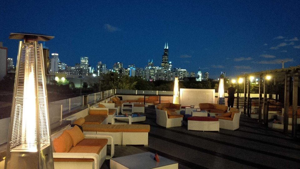 Network Under the Stars at Estate Ultra Bar's Star Deck!